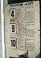 Timetable (tram) MPK Poznan.jpg