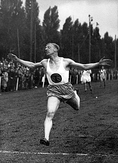 Tinus Osendarp Dutch sprint runner