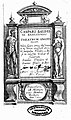 Title page of Theatrum Anatomicum, Casper Bauhinus Wellcome L0020223.jpg