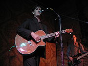 The Mountain Goats performing at the Northstar Bar on September 22nd, 2007