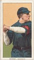 Tom Downey, Cincinnati Reds, baseball card portrait LCCN2008676451.tif