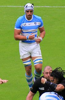 Tomás Lavanini Argentine rugby union footballer