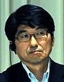 Tomihisa Taue cropped 3 Yukiya Amano and Tomihisa Taue 20110727.jpg