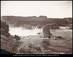 Top of Shoshone Falls, Idaho, C.R. Savage, Photo.jpg