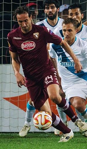 Emiliano Moretti - Moretti with Torino in 2015