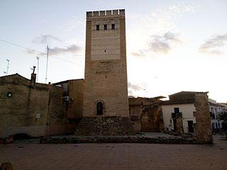 Tower and walls of the Borgias