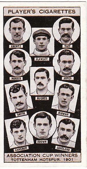 1901 FA Cup Final - Image: Tottenham Hotspur FC 1901 Cup Winners