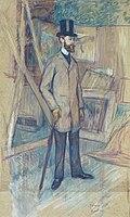 Toulouse-Lautrec - Georges-Henri Manuel in the Studio, 1891.jpg