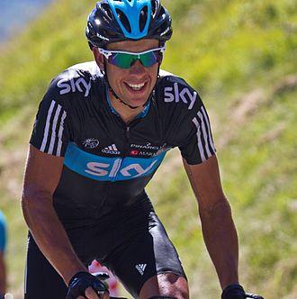 Richie Porte - Porte at the 2012 Tour de France