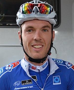 Cédric Pineau - Pineau at the 2014 Tour de l'Ain