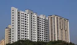 High-rise residential apartments in Mira Road (East)