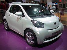 Toyota Iq Production Version