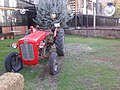 Tractor with a plate of Yozgat in Ankara.jpg