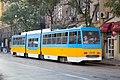 Tram in Sofia mear Macedonia place 2012 PD 026.jpg