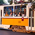 Tram in Sofia near Palace of Justice 2012 PD 008.jpg