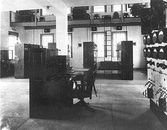 Deal Test Site - Transmitter room circa 1922
