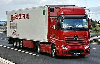 Mercedes-Benz Actros Motor vehicle