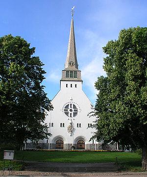 Arvika - Image: Trefaldighetskyrkan Arvika view