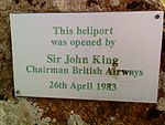 Tresco heliport plaque.JPG
