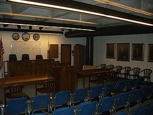 Golden Gate University School of Law - Mock Trial Room
