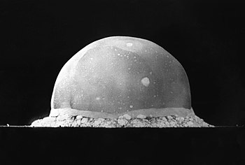 English: PA-98-0520 — Trinity Site explosion, ...