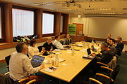 Tripartate meeting of National Libraries of Scotland, Wales and the BL.JPG