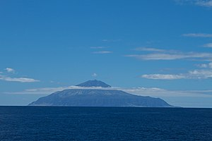 Queen Mary's Peak (Bildmitte)