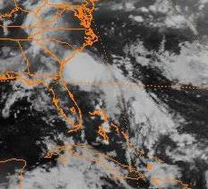1994 Atlantic hurricane season - Image: Tropical Depression Two (1994)