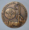 Tschechische Bischofskonferenz Medaille 2012.JPG