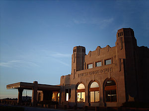 Oklahoma Jazz Hall of Fame - Headquarters of the Hall of Fame, the Tulsa Union Depot