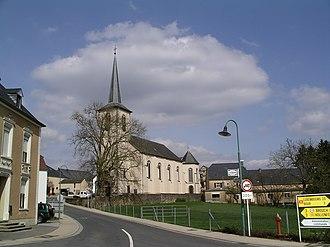 Tuntange - Image: Tuntange Kirche