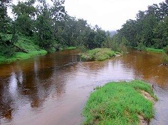 Tuross River - Image: Tuross River from bridge