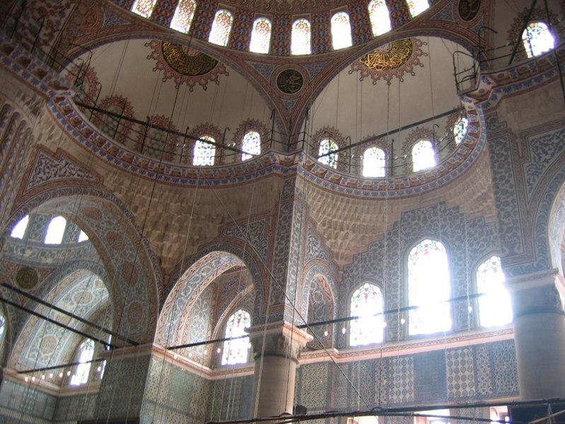 Файл:Turquie - Istanbul - Mosquee bleue - interieur.jpg