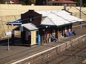 Turrella, New South Wales - Turrella railway station