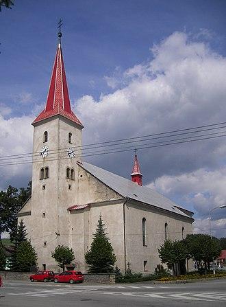 Tvrdošín - Most Holy Trinity Church, Tvrdošín