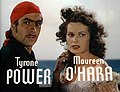 Tyrone Power Maureen O'Hara Black Swan 6.jpg