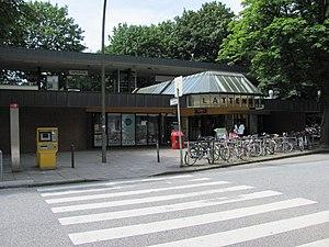 Lattenkamp (Hamburg U-Bahn station) - The station's entrance