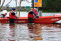 U.S. Coast Guardsmen with the Disaster Assistance Response Team perform a medical evacuation along a flooded frontage road by the Highway 55 underpass in La Place, La., Aug. 31, 2012 120831-G-LB304-026.jpg