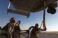 U.S. Marines with Combat Logistics Regiment 2, 2nd Marine Logistics Group, undergo helicopter support team training during Enhanced Mojave Viper (EMV), on Marine Corps Air Ground Combat Center Twentynine Palms 120912-M-KS710-108.jpg