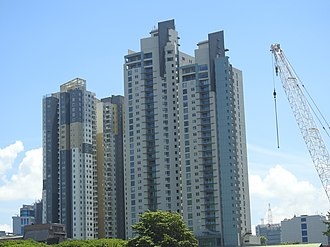 Empire, Colombo - The twin tower of the Empire (right).