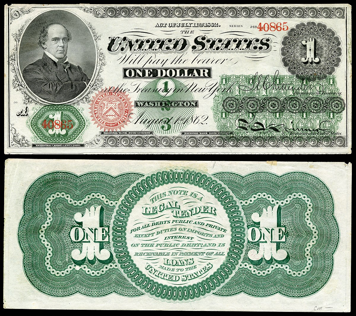 Greenback 1860s Money Wikipedia