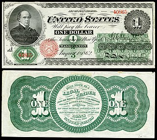 Greenback (1860s money) Form of paper currency