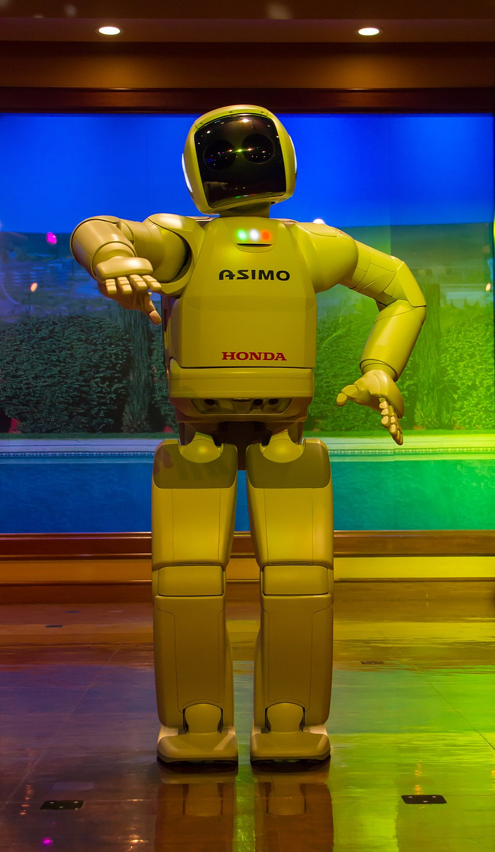 USA - California - Dysneyland - Asimo Robot - 4