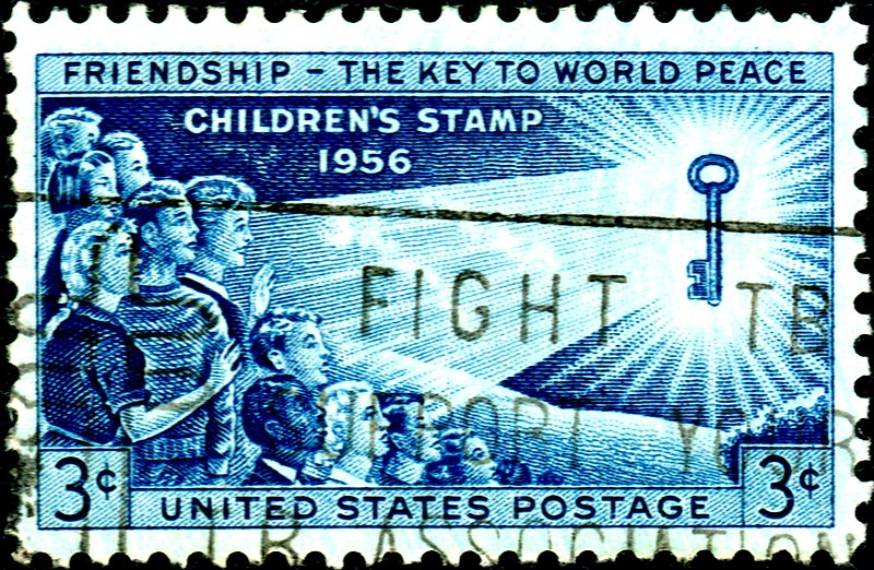 800px USA 1956 3c FriendshipTheKeyToWorldPeace Open Education, Personal Learning and National Policies