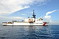 USCGC Bear transfers cocaine in the Atlantic near Florida, Sept 2014.jpg