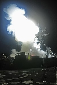 USS Barry (DDG 52) launches a Tomahawk, Operation Odyssey Dawn.jpg