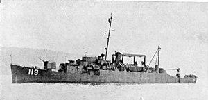 USS Beverly W. Reid (APD-119), in 1945-1946