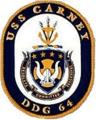 USS Carney (DDG-64) ship crest.png