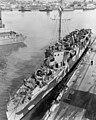 USS Gilmer (APD-11) at the Mare Island Naval Shipyard, California (USA), on 27 November 1944 (19-N-76937).jpg