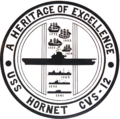 USS Hornet (CVS-12) shield 1960s.png